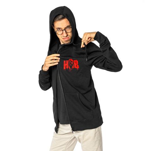 √Pocket von HandOfBlood - Hooded jacket jetzt im Hand of Blood Shop