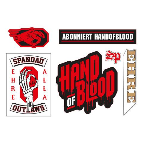 √Sticker Set von HandOfBlood - Stickerset jetzt im Hand of Blood Shop