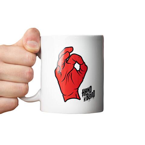 HandOfBlood Hand Logo by HandOfBlood - mug - shop now at HandOfBlood store