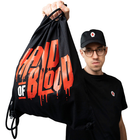 HandOfBlood Typo Logo by HandOfBlood - Gym Bag - shop now at HandOfBlood store